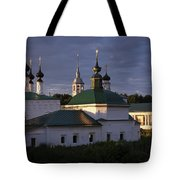 Sunset In Suzdal Tote Bag