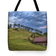 Sunset In The Carpathians Tote Bag