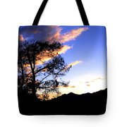 Sunset In The Highlands Tote Bag