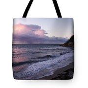 Sunset In The Ocean Tote Bag