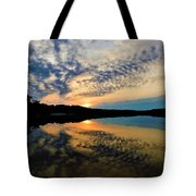 Sunset In The Pinelands  Tote Bag