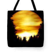 Sunset In The Round Tote Bag