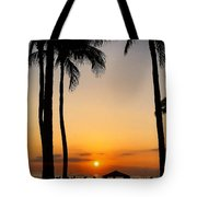Sunset In The Sandwich Isles  Tote Bag