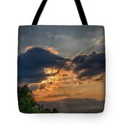 Sunset In The Shenandoah Valley Tote Bag
