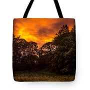 Sunset In The Shire Tote Bag