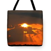 Sunset In The South Tote Bag
