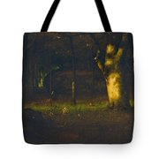 Sunset In The Woods Tote Bag