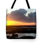 Sunset In Viera Florida Tote Bag