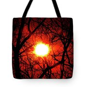 Sunset In Virginia Tote Bag