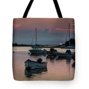 Sunset In West Falmouth Tote Bag