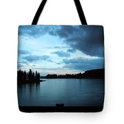 Sunset In Wyoming Tote Bag