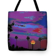 Sunset In Your Colorful Moon Tote Bag