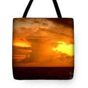 Sunset Indian Ocean Tote Bag