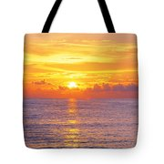 Sunset, Indian Rocks Beach, Florida, Usa Tote Bag
