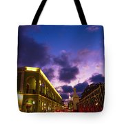 Sunset It Campeche City Downtown Tote Bag