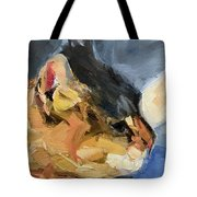 Sunset Kitty Tote Bag