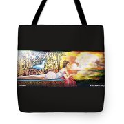 Sunset Lady Tote Bag