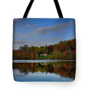 Sunset Lake View Tote Bag