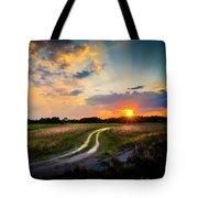 Sunset Lane Tote Bag