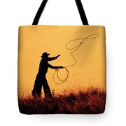 Sunset Lariat 4 Tote Bag