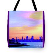 Sunset Lower Manhattan 2c2 Tote Bag
