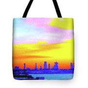 Sunset Lower Manhattan 2c3 Tote Bag