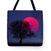 Sunset Magenta Tote Bag