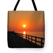 Sunset Marathon Tote Bag