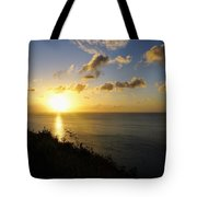 Sunset Monument Tote Bag