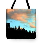 Sunset Moon Tote Bag