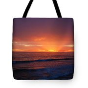Sunset Near Carpinteria Tote Bag