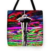 Sunset Needle 2 Tote Bag