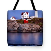 Sunset Nubble Tote Bag