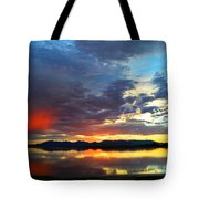 Sunset Of Colors Tote Bag