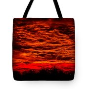 Sunset Of New Mexico Tote Bag by Savannah Fonner