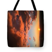 Sunset Of The West Tote Bag