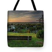 Sunset On A Beautiful Place Tote Bag