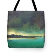 Sunset On Blue Danube Tote Bag