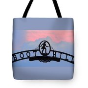 Sunset On Boot Hill Tote Bag