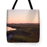 Sunset On Broad Creek Hilton Head South Carolina Tote Bag