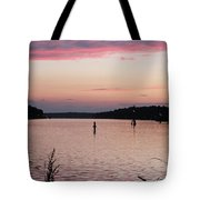 Sunset On C And D Tote Bag