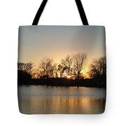 Sunset On Elk Tote Bag