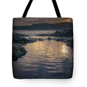 Sunset On Iceland Tote Bag