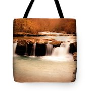 Sunset On King's River Tote Bag