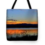 Sunset On Lake Dillon Tote Bag