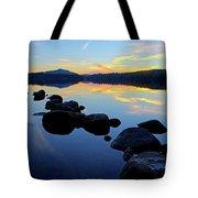 Sunset On Lake Harris 2 Tote Bag