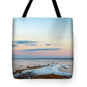 Sunset On Long Island Tote Bag