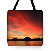 Sunset On Mahoro Tote Bag