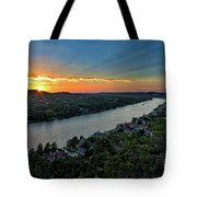 Sunset On Mount Bonnell Tote Bag