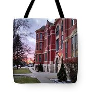 Sunset On Old Main Tote Bag